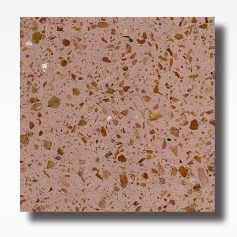 Calista Red - Terrazzo Tile Indonesia for Indoor and Outdoor Flooring 60 x 60 cm