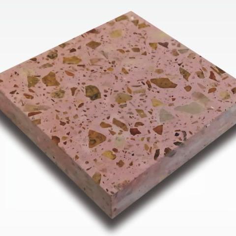 Calista Red - Terrazzo Indonesia for Indoor and Outdoor Flooring Tile