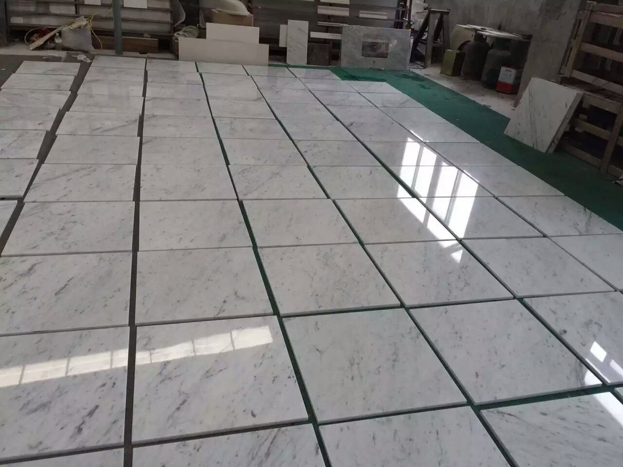 Carrara Tiles Floors