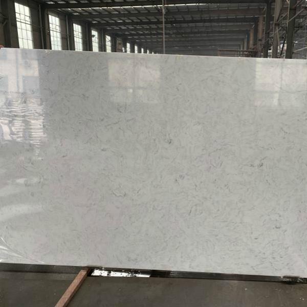 Carrara White Quartz Slab