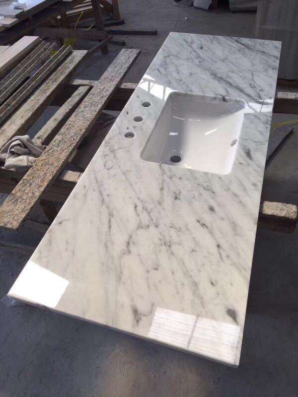 Carrara white vanity