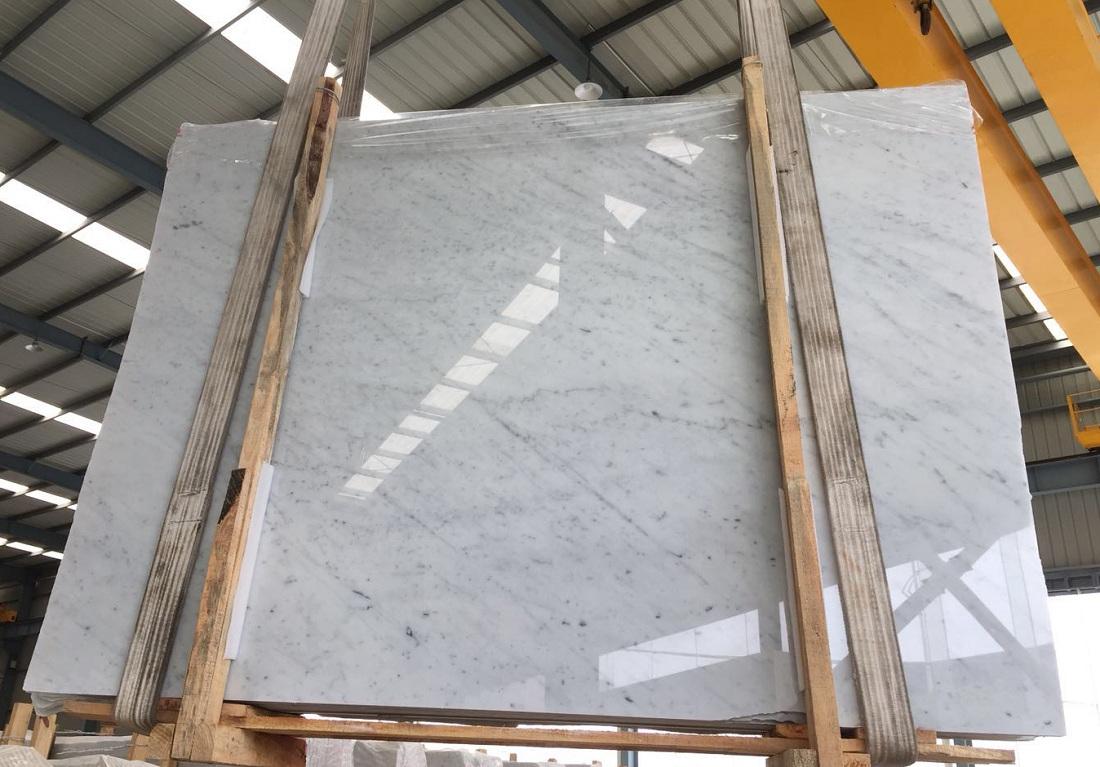 Carrara white slab