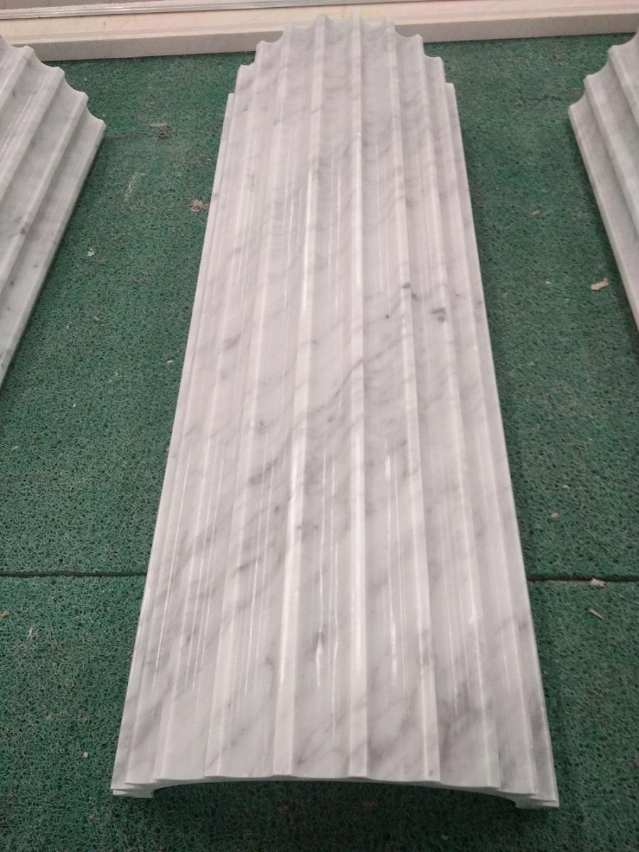 Carrara white column