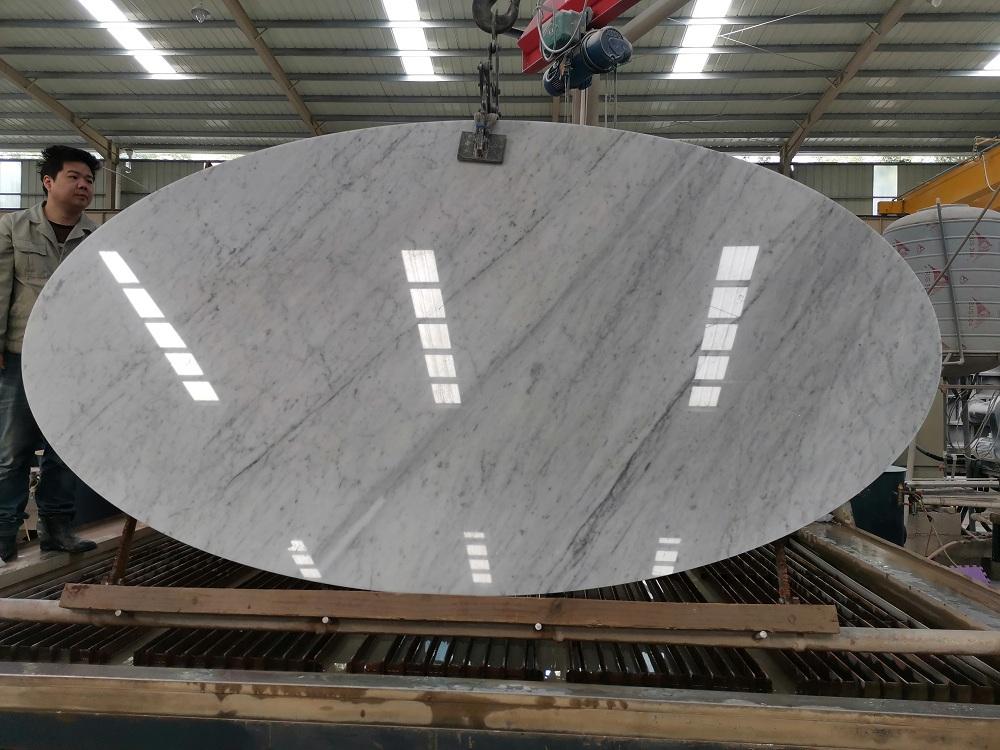 Carrara white tabletop