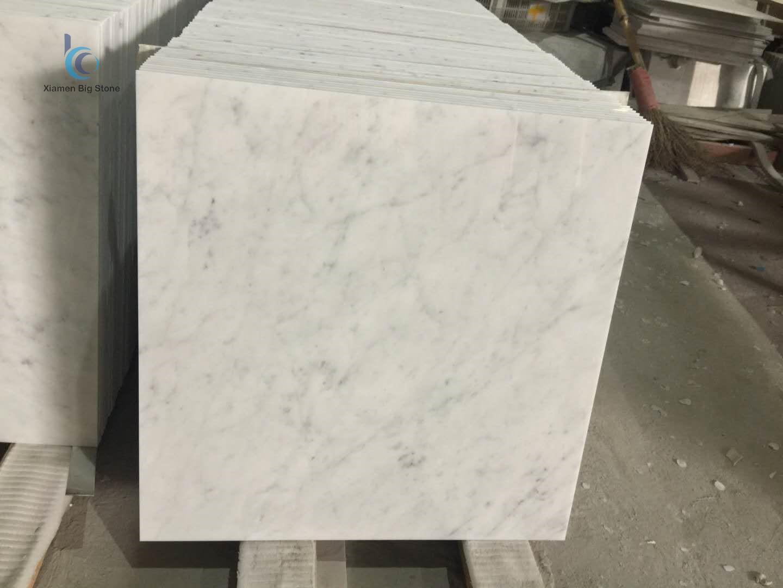 Carrara White Italian Marble Thin Tile
