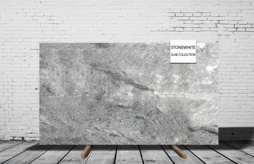 Charon Grey Cloudy Grey Cheap Grey Marble Slab 2cm