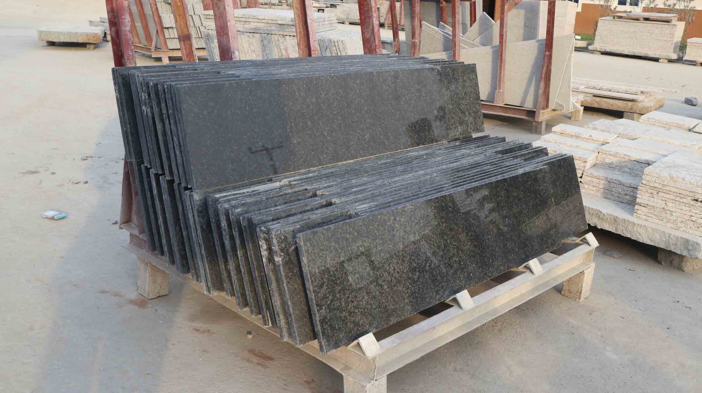 Charm Blue Blackish Green -11c Granite