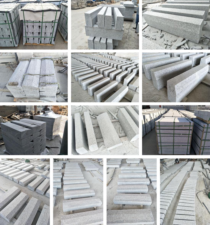 Gray Granite kerbstone