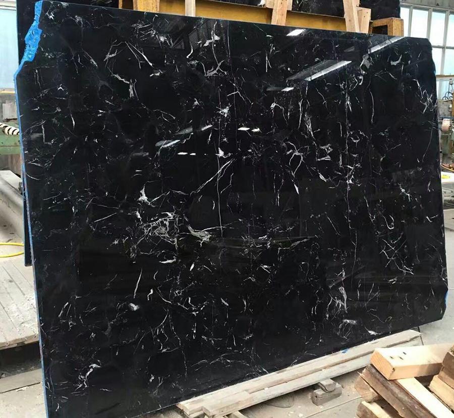 China Black Marble Slabs