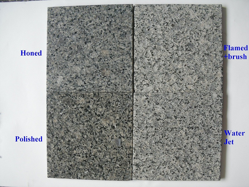 China Calidonia Grey Polished Granite Tiles