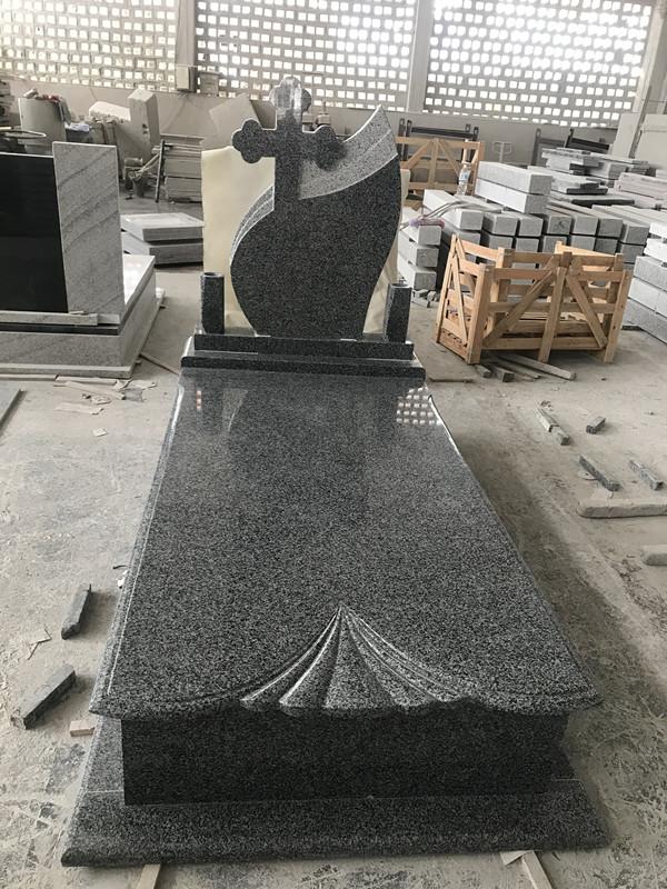 China Impala granite tombstone
