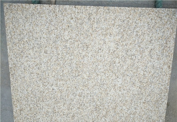 China Laizhou Rust Yellow Granite slabs and tiles