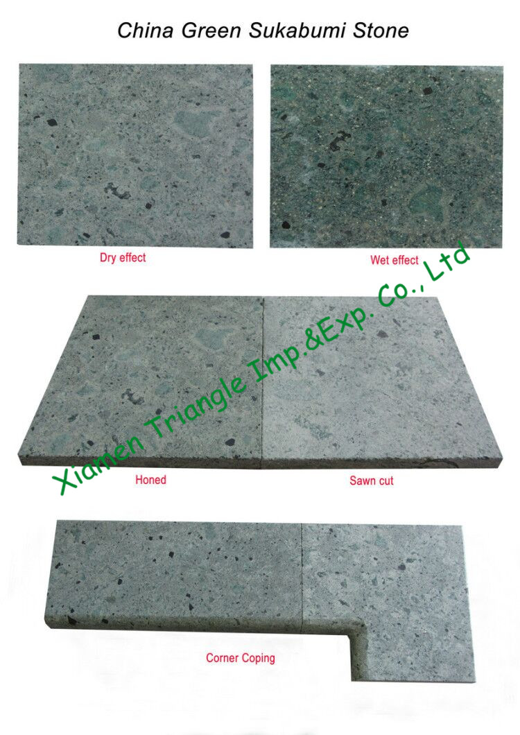 China Green Sukabumi Stone