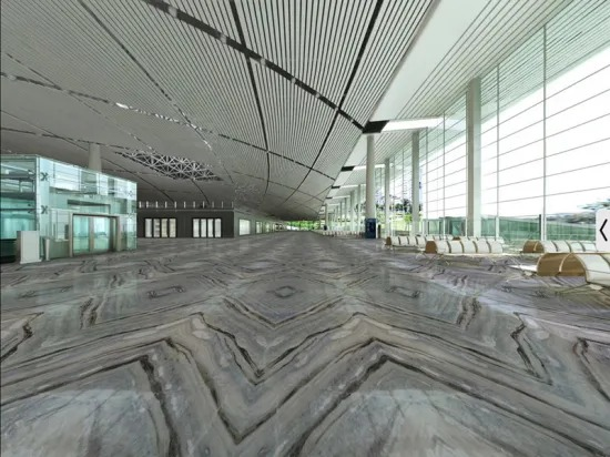 China Polished Blue Danube Marble For Decoration