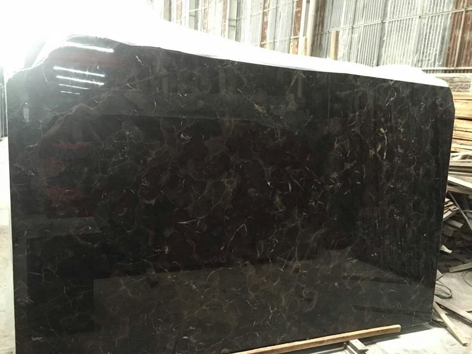 Chinese dark emperador slab
