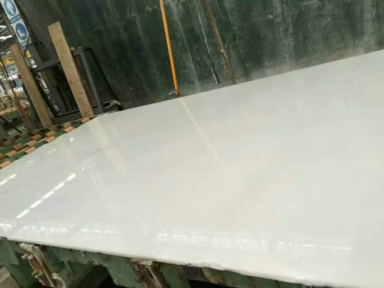 China white jade slab