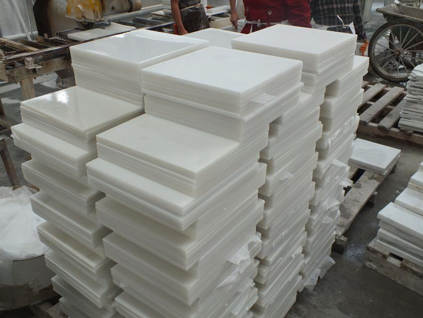 Chine White Jade Marble Tile