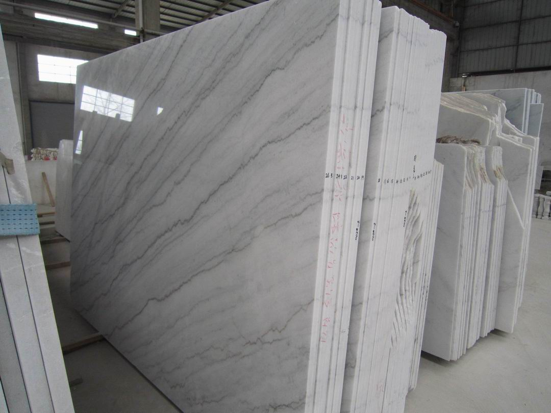 China Carrara white marble
