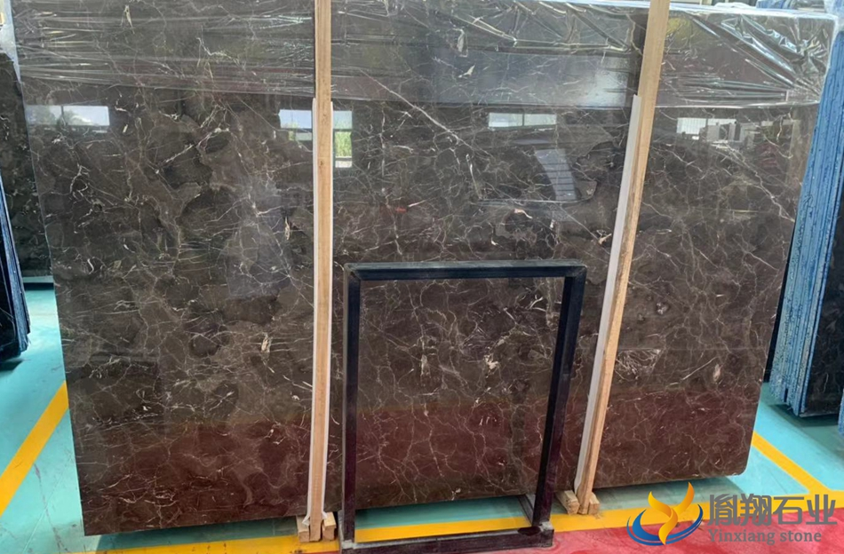 China Dark Emperador Marble Slabs cheap price