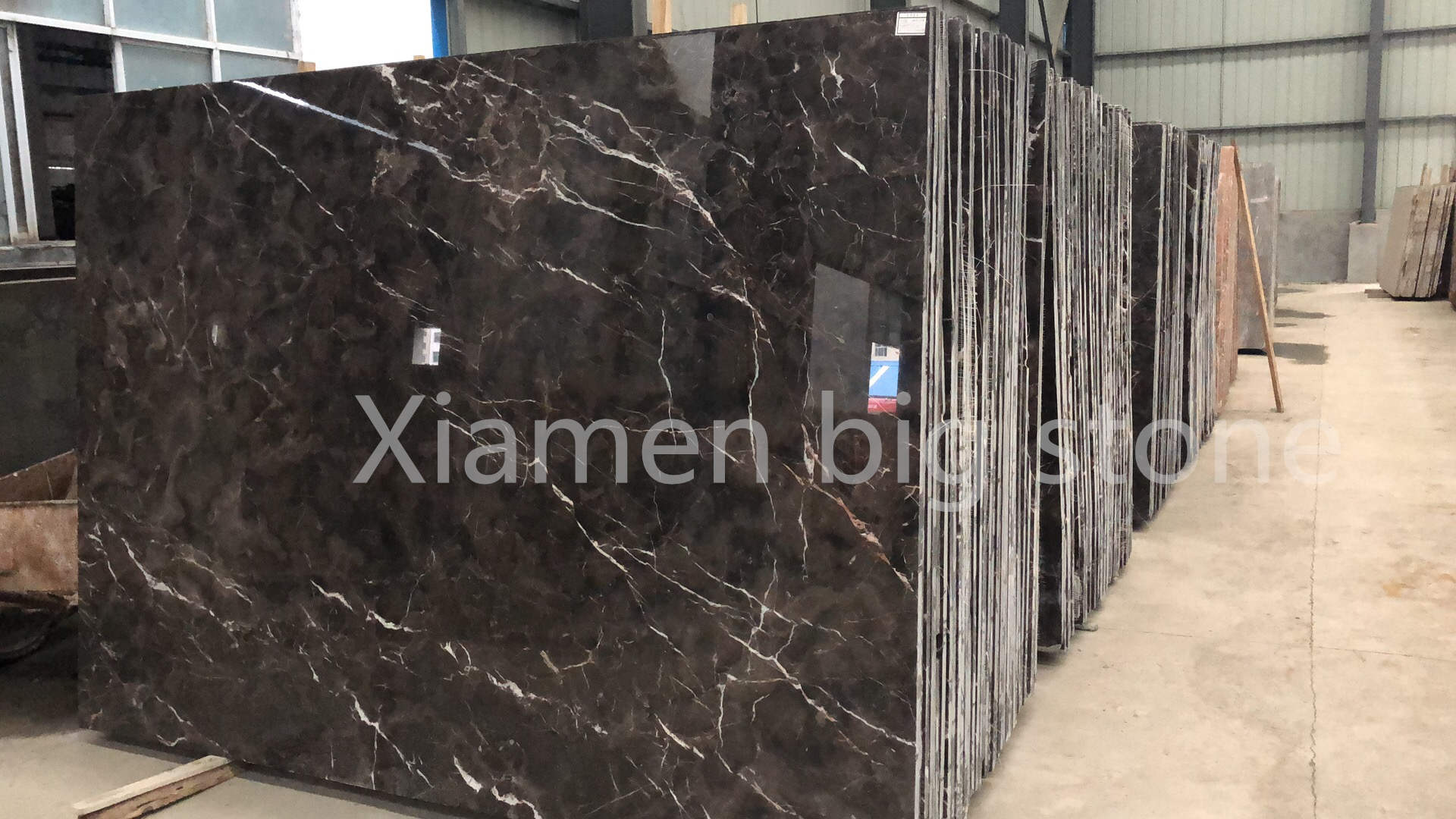 China Dark Emperador Big Slab
