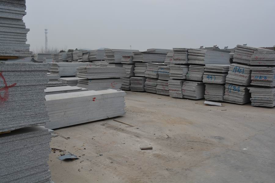 China Gray slabs