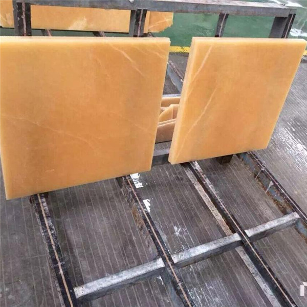 Natural Polished China Honey Onyx Tile