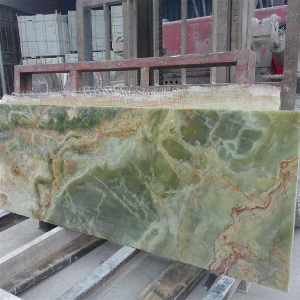 Pakistan Dark Green Onyx Slab