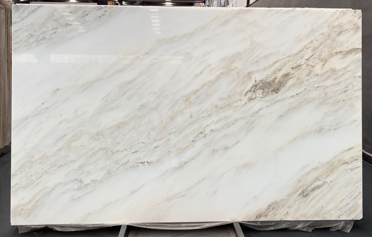 Chinese Jade White Polished Marble Slabs