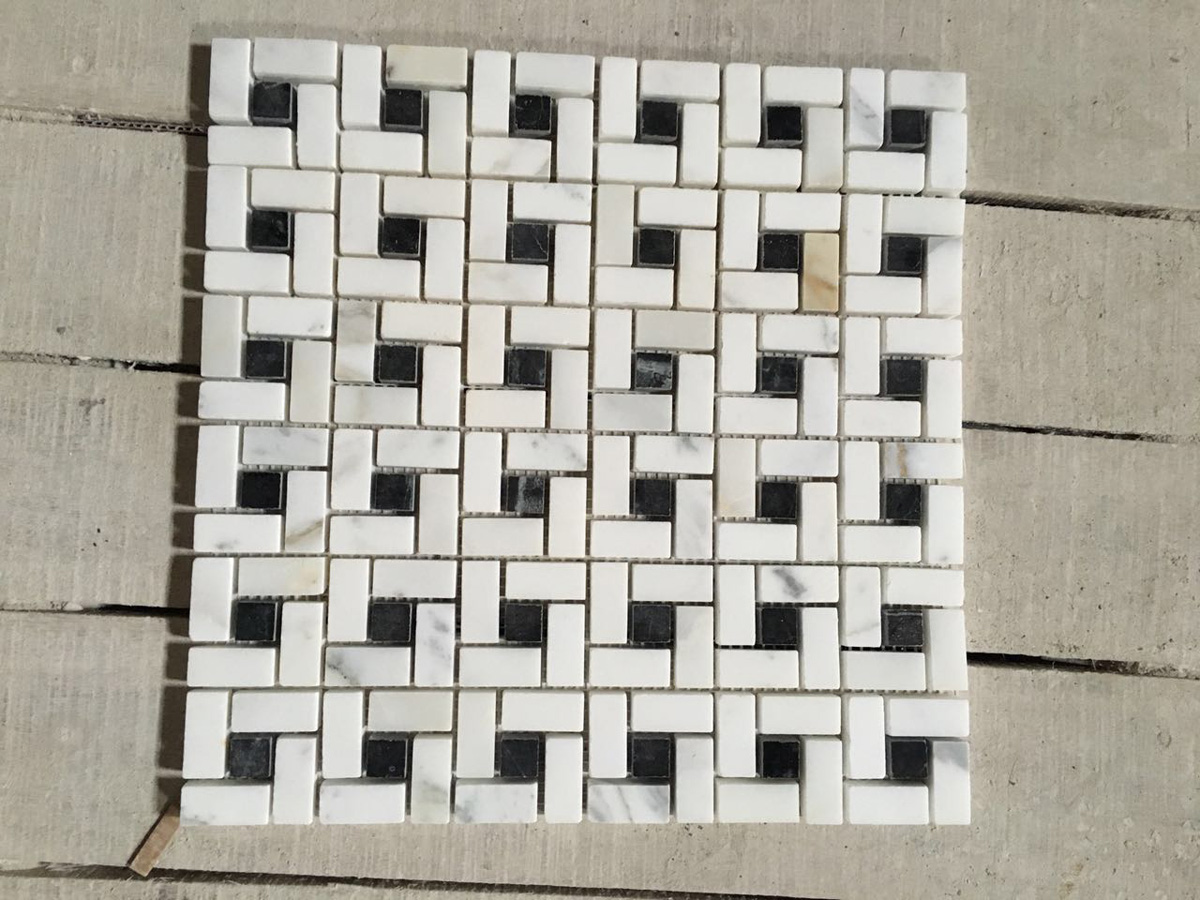 Chinese Marble Mosaics for Bathroom Walling