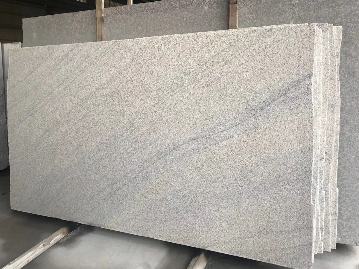 Chinese New Viscont White Granite Stone Slabs