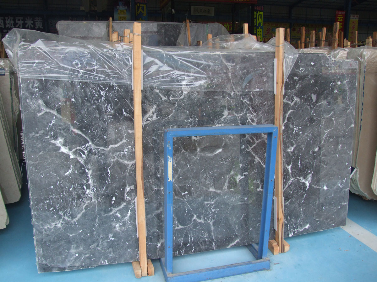 Chinese Star Grey Marble Slabs for Export