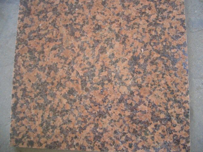 Guilin Red Granite Tiles & Slabs China Balmoral Red Polished & Flamed Granite Tiles