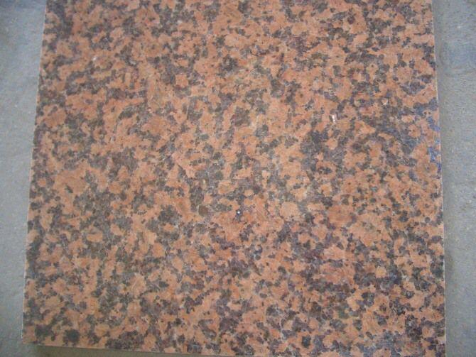 Guilin Red Granite Tiles & Slabs China Balmoral Red Polished & Flamed Granite Tiles