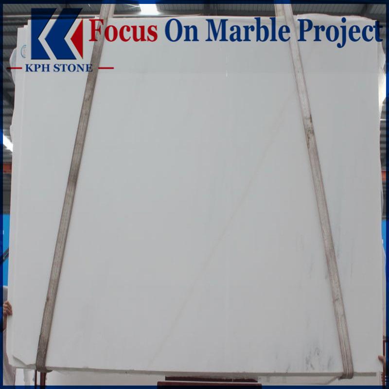 Chese white marble slab