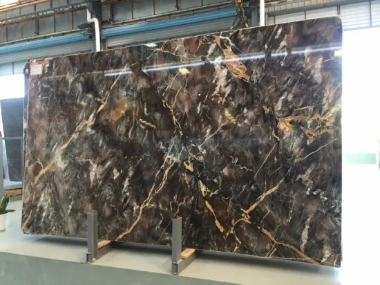 Chinese Louis Red Marble Slab For Walling