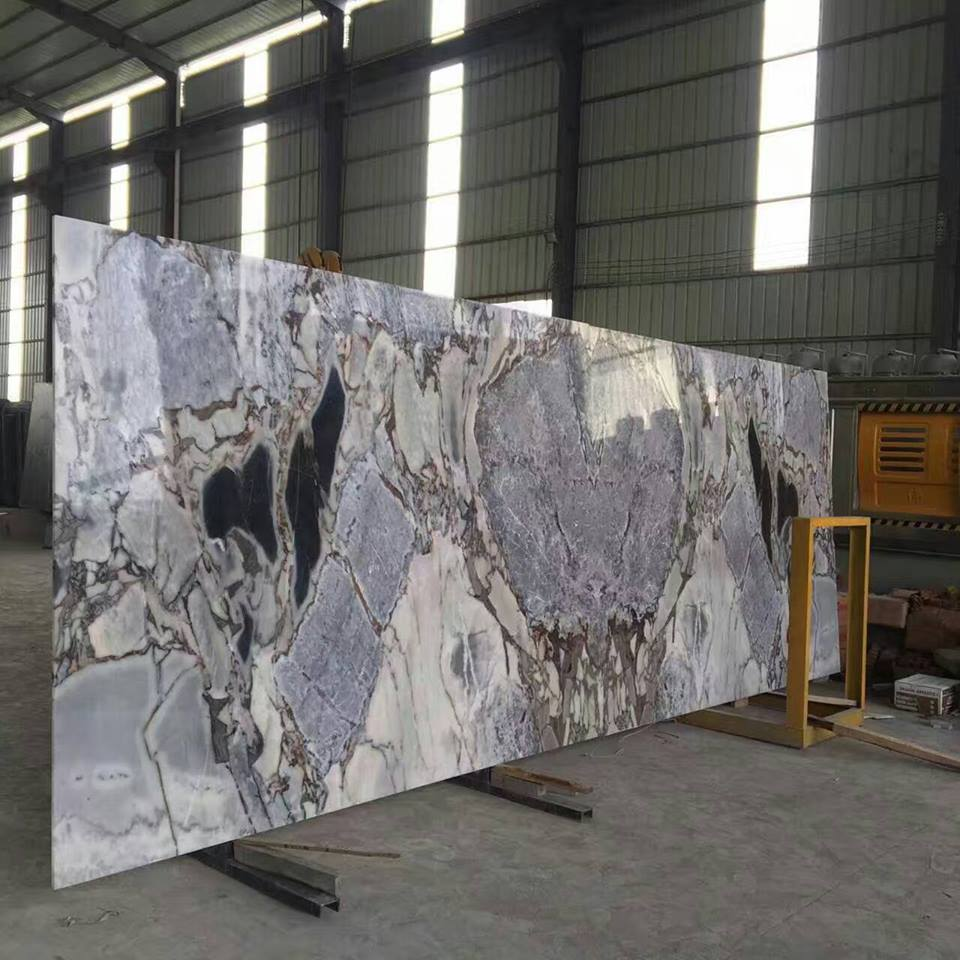 Chinese Colorful Exotic Marble Slab