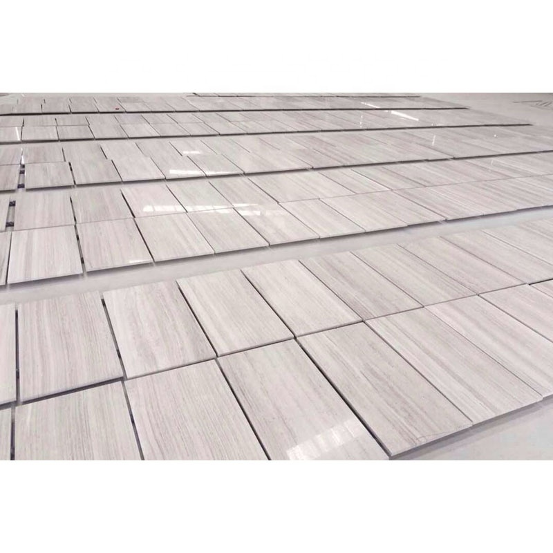 Chinese Natural Wooden Vein Marble Tiles