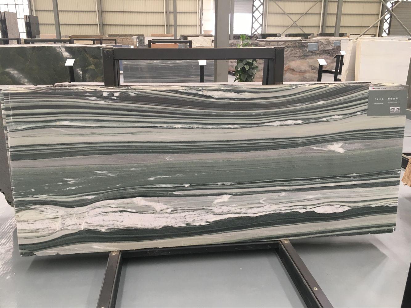 Verde Cipollino Greco Marble