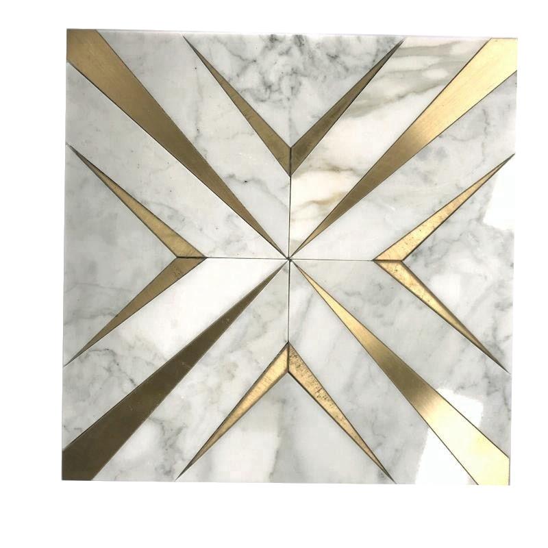 Classic Tile Flooring Brass Tile