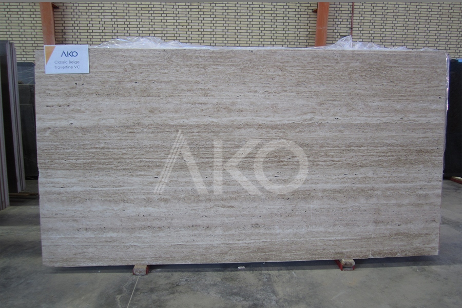 Classic Beige Travertine