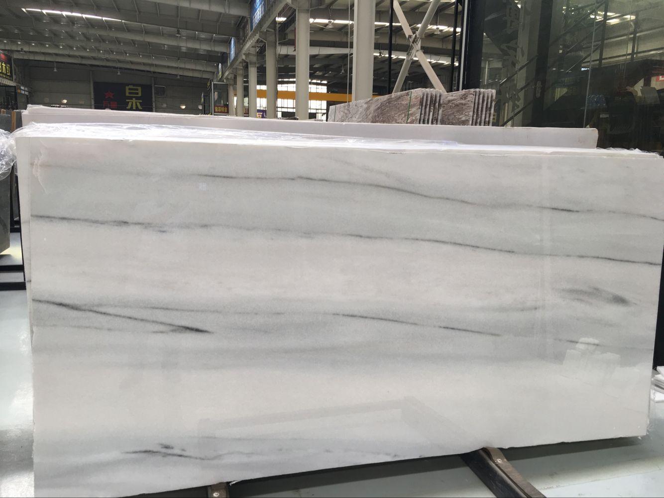 Classic WhiteIran Marble Polished Big  Slabs