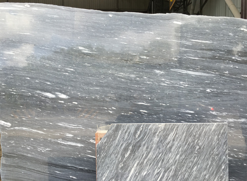 Cloudy Marble Polished Marble Slabs