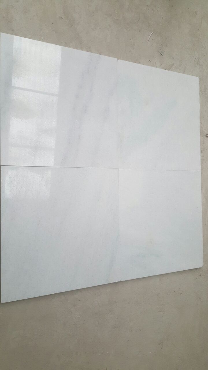 Cloudy White Marble Slabs tiles White Vein Stone flooring til