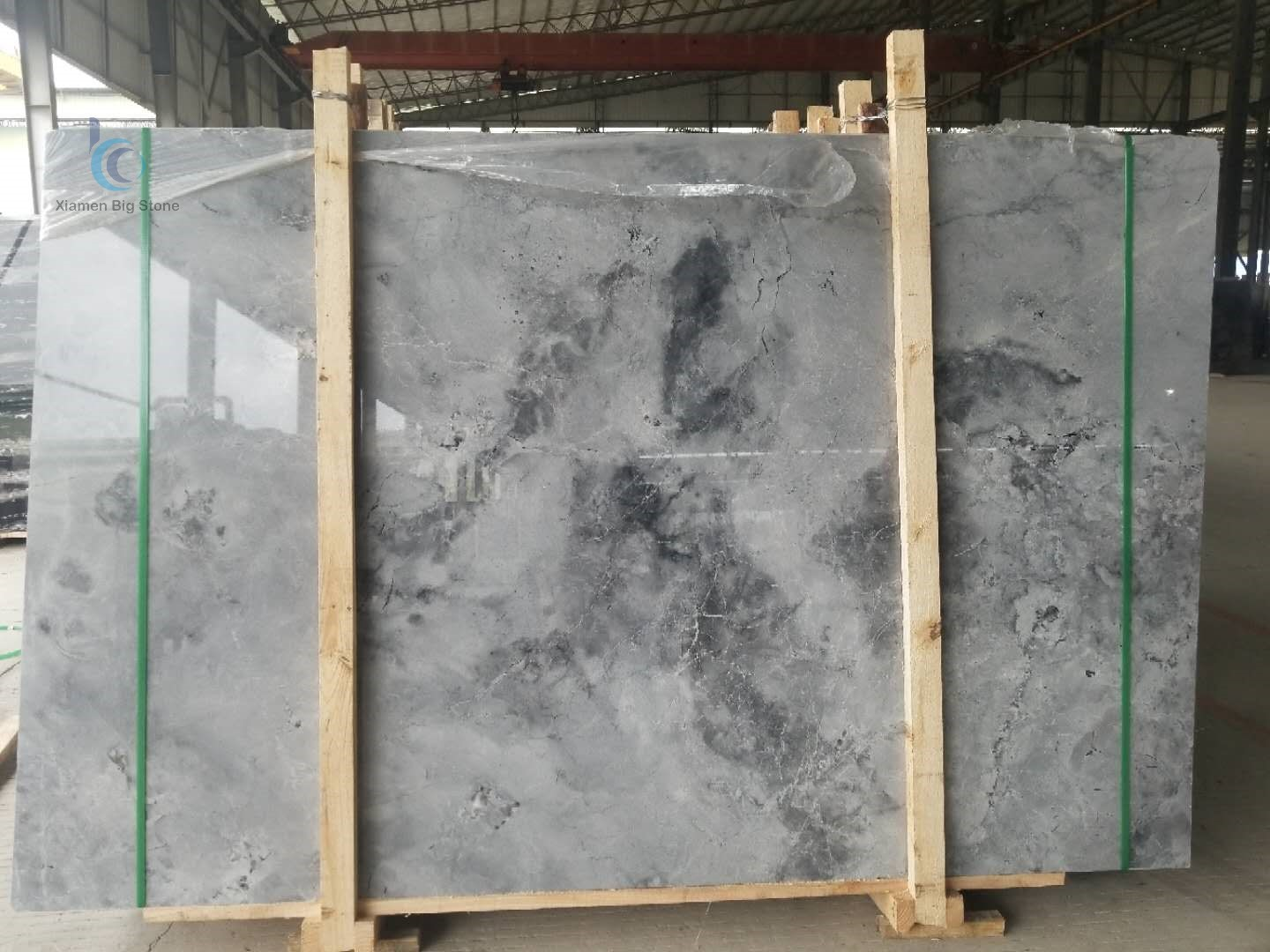 Cloudy Grey China Marble Slabs