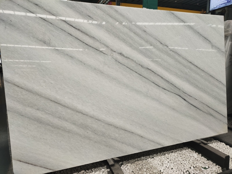 Colombia White Marble Book matched Slabs Aspur King White Dungarpur White Marble