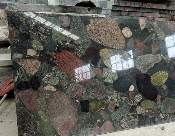 China Multi-color Granite Color Pearl Polished Tile & Slab