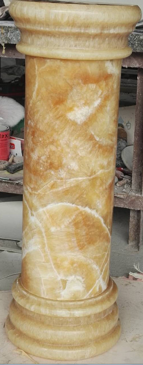Chinese Onyx Yellow Column