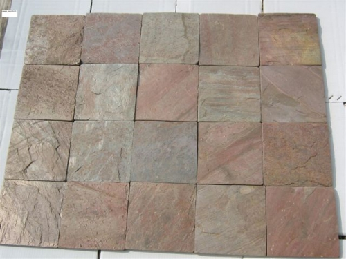 Copper- Natural Split Slate Tiles
