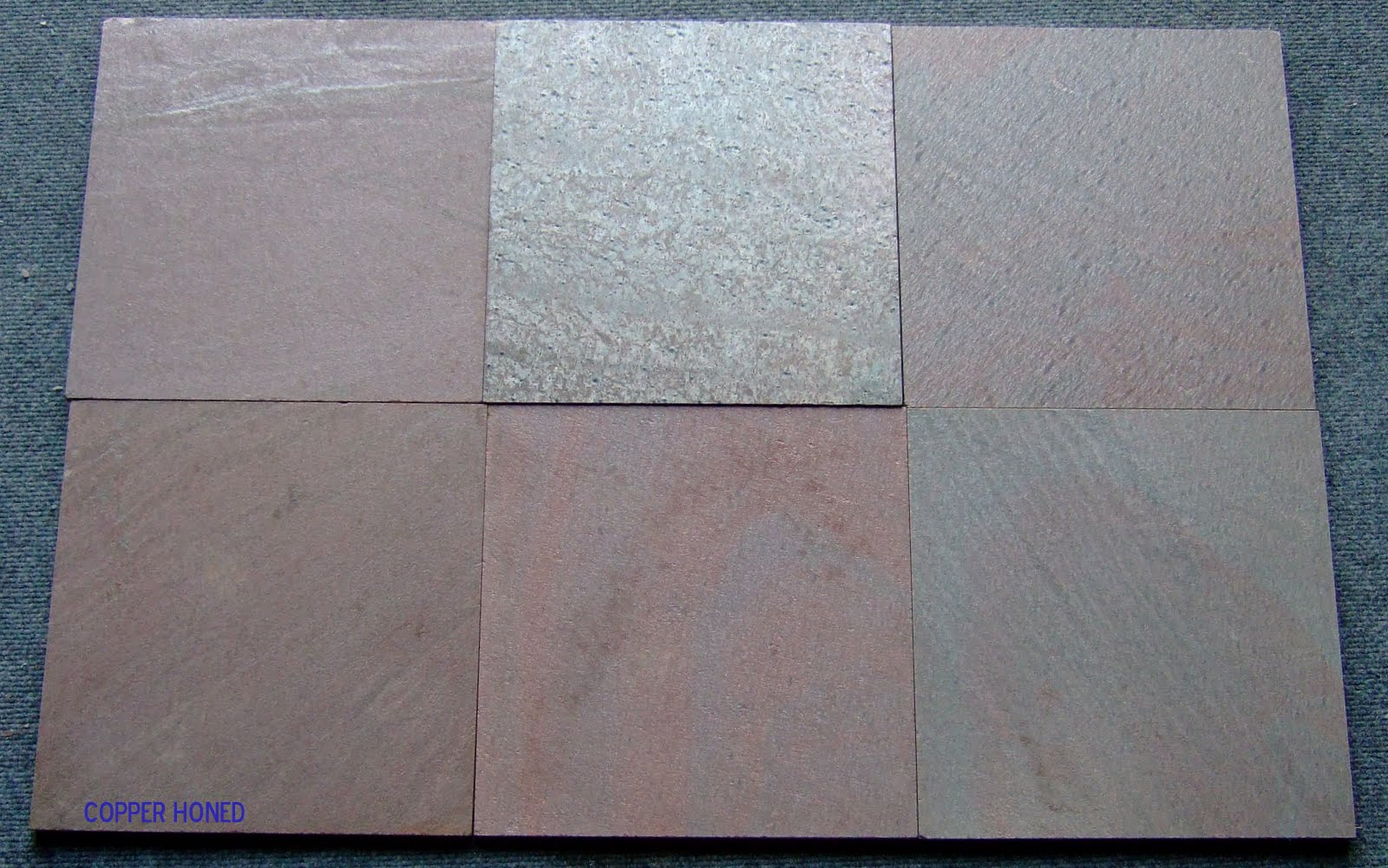 Copper Polished Slate Tiles
