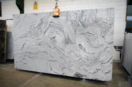 Cosmic White Granite Slabs